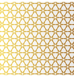 Arabic pattern gold style Traditional arab east vector image
