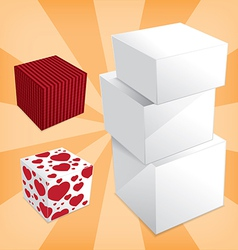 Box stack vector