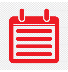 Day calendar icon sign design style vector