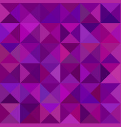 Geometric abstract triangle tiled mosaic pattern vector