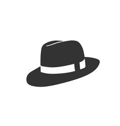 hat cowboy vector image