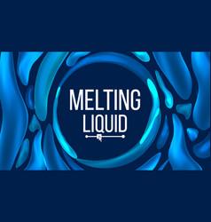 liquid background trendy gradients liquid vector image