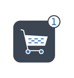 order glyph icon vector image