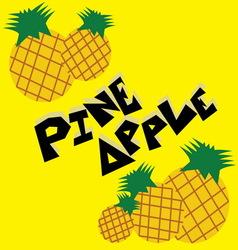 Pineapple Wallpaper vector