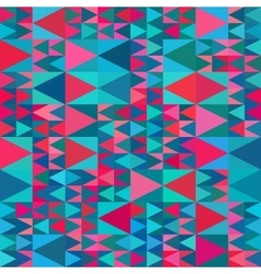 Seamless Geometric Blue Pink Shades vector image