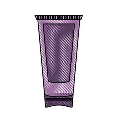 skin cream bottle vector image