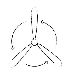 Wind turbine eolic energy vector