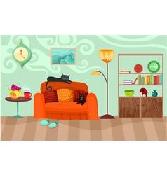 room vector image vector image