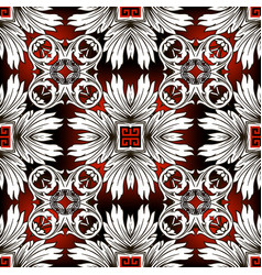 abstract baroque seamless pattern modern vector image