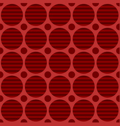 Abstract seamless circle pattern background vector