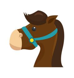 cute animal icon vector image