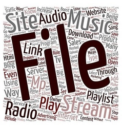 JP blog radio 1 text background wordcloud concept vector