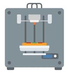 Tree D printing vector