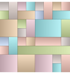 Pastel Squares vector image vector image