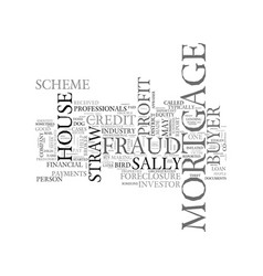 What is mortgage fraud for profit text word cloud vector