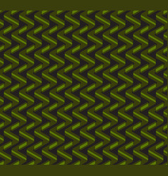 Abstract geometric zig-zag seamless pattern vector