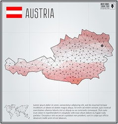 Austrian map vector