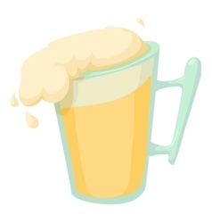 Beer icon cartoon style vector image