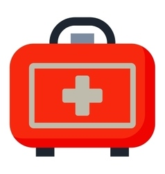 Car medical kit vector image