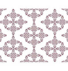 Classic abstract geometric floral pattern vector image