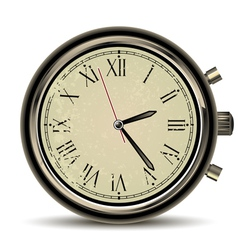 clocks vintage vector image vector image