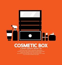 Cosmetic Box vector image