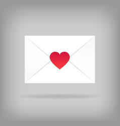 Happy valentine s day envelope vector