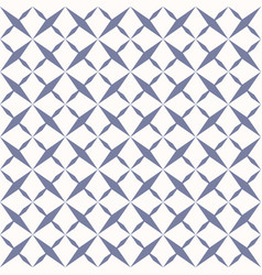 ornamental grid seamless geometric pattern vector image