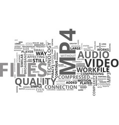 What is mp text word cloud concept vector