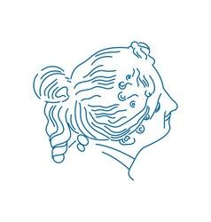 Portrait-Of-Goddess-Aegle-380x400 vector image vector image