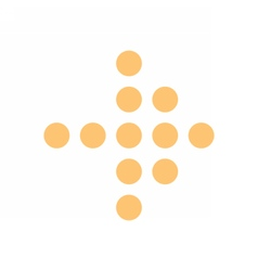 Arrow icon digital sign pictogram pointer button vector image vector image