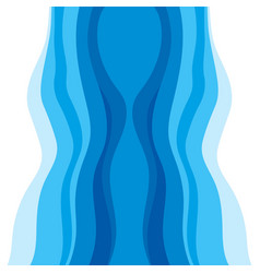 abstract water wave design background vector image