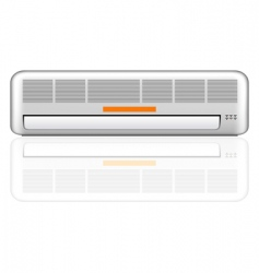 air conditioner illustration vector image