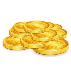 Bitcoins vector