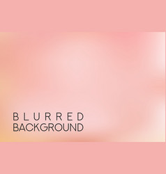 horizontal wide pink sky blurred background vector image