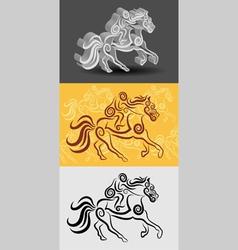 Jockey Symbol vector image