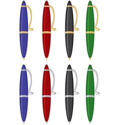 pen color vector image