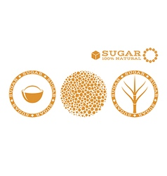 Sugar Stamp vector image