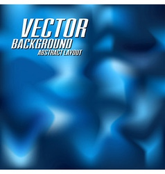 Blue Abstract vector image