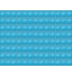 Blue tile seamless texture vector