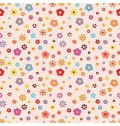 Flower pattern summer pattern vector
