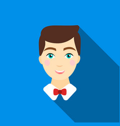 groom man icon of for web and vector image