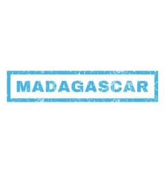 Madagascar Rubber Stamp vector image