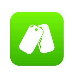 paintball sport badge icon green vector image