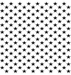 pattern with beautiful stars stylish seamless vector image