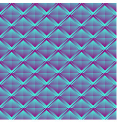 Repeatable pattern with crystal like structure vector