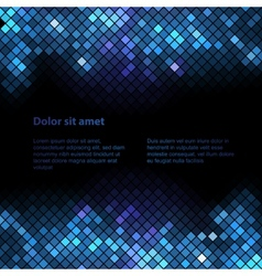 Shiny background with sequins vector image vector image
