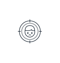 Victim creative icon from war icons collection vector