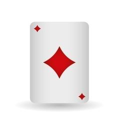 casino cards design vector image