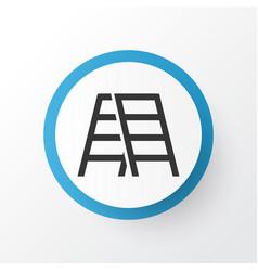 Stepladder icon symbol premium quality isolated vector